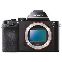 Sony A7 Compact System Camera With Full Frame Sensor - Body sale image