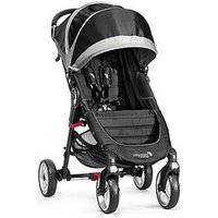 Baby Jogger City Mini 4 Wheeler Pushchair, Black
