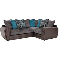 Product photograph showing Gatsby Right Hand Double Arm Corner Group Sofa