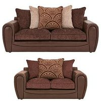Product photograph showing Gatsby 3 Seater 2 Seater Sofa Set Buy And Save