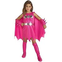 Girls Pink Batgirl Child Costume, Multi, Size Age: 3-4, Women