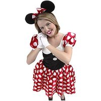 Disney Minnie Mouse - Adult Costume, Size S, Women