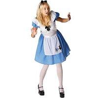 Disney Disney Alice in Wonderland - Adult Costume, Multi, Size S, Women