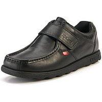 Kickers Fragma Mens Strap Shoes, Black, Size 7, Men