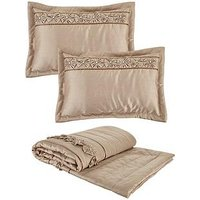 Product photograph showing Franchesca Bedspread Throw And Pillow Shams