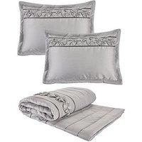 Franchesca Bedspread Throw And Pillow Shams Set