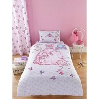 Catherine Lansfield Glamour Princess Duvet Cover Set - Single, Multi