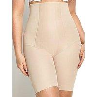 Miraclesuit Shape with an Edge Hi-Waist Long Leg, Nude, Size 14(L), Women