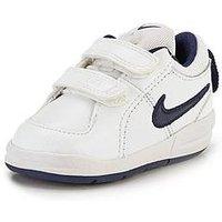 Nike Pico 4 Infant Trainer, White/Navy, Size 6