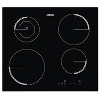 Zanussi Zei6840Fba 60Cm Touch Control Induction Built-In Hob - Black