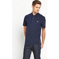 Lacoste Mens Core Polo Shirt, Navy, Men