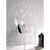 Superfresco Texture Pearl Collection Cherry Blossom White Wallpaper