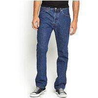 Levi's 501 Mens  Original Fit Jeans, Stonewash, Size 30, Inside Leg R=32 Inch, Men