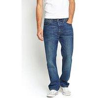 Levi's 501 Mens Premium Original Fit Jeans, Hook, Size 31, Inside Leg L=34 Inch, Men
