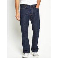 Levi's 501 Mens Original Fit Jeans, Onewash, Size 32, Inside Leg R=32 Inch, Men
