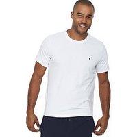 Polo Ralph Lauren Mens Single Logo T-shirt - White, White, Size L, Men