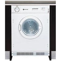 White Knight C4317 7Kg Load Integrated Vented Tumble Dryer - White