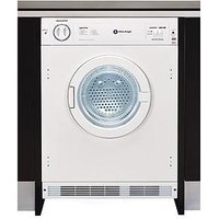 White Knight C8317 7Kg Load Integrated Vented Tumble Dryer - White