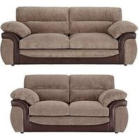Lyla 3-Seater + 2-Seater Sofa Set (Buy And Save!)