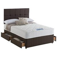 Sealy Nina 1200 Pocket Backcare Memory Divan With Optional Storage
