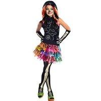 Monster High Skelita Calaveras - Child Costume, Size M (5-7 Years), Women