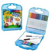 Crayola Supertips Washable Markers And Paper Set