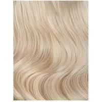 Beauty Works Deluxe Clip-In Extensions 18 Inch 100% Remy Hair - 140 grams, 1B Ebony, Women