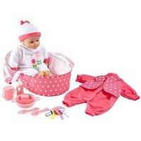 Lissi 41 Cm Talking Baby Gift Set
