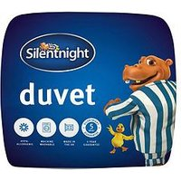 Product photograph showing Silentnight Hippo And Duck Range 10 5 Tog Duvet