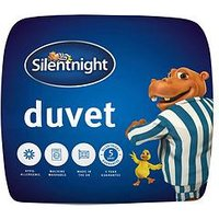 Product photograph showing Silentnight Hippo And Duck Essentials 13 5 Tog Duvet