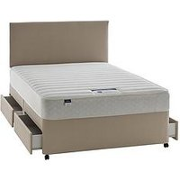 Silentnight Miracoil 3 Celine Memory Divan With Optional Storage And Half-Price Headboard Offer (Buy And Save!)