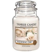 Product photograph showing Yankee Candle Large Jar - Wedding Day