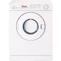 Swan Stv403W 3Kg Load Vented Tumble Dryer - White
