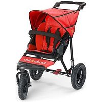 Out n About Nipper Single V4 Pushchair, Steel Grey