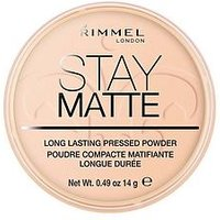 Rimmel London Stay Matte Pressed Powder 14g, Peach Glow, Women