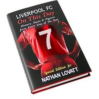 Personalised On This Day Football Book, Manchester United, Women
