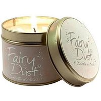 Lily-Flame Fairy Dust Tin Candle