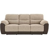 Product photograph showing Santori 3-seater Recliner Sofa