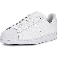 adidas Originals Superstar Foundation Trainers, White, Size 6, Women