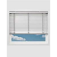 Made To Measure 50 Mm Aluminium Venetian Blinds - White