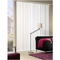 Made To Measure Fabric Vertical Blinds - Off White