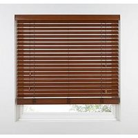 Made To Measure 50Mm Wooden Venetian Blinds - Chestnut