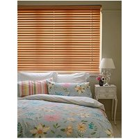 Made To Measure 50 Mm Wooden Venetian Blinds - Beech