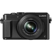 Panasonic Lumix Dmc-Lx100 In Black - 12.8Mp, Micro 4/3 Sensor, 24Mm Leica Lens, 4K.