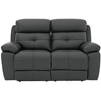 Sefton Leather/Faux Leather 2 Seater Manual Recliner Sofa