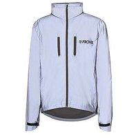 PROVIZ Mens Reflect 360 Cycling Jacket, Silver, Size M, Men