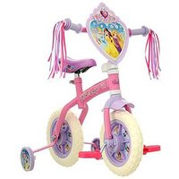 Disney Princess 2-In-1 10 Inch Training Bike With Tassels