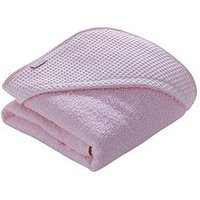 Clair De Lune Waffle Hooded Towel, Pink