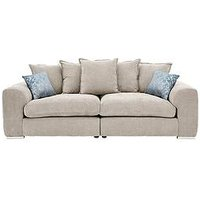 Product photograph showing Cavendish Sophia 4 Seater Fabric Sofa
