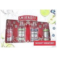 Smirnoff Flavoured Vodka Gift Pack 4 X 5Cl, Women